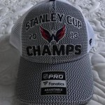Official Championship Stanley Cup Hat 2018